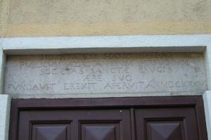 Linteau Rue F.Zanin
