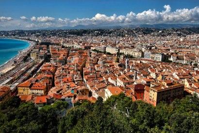 Le Vieux-Nice vu de la colline du château