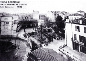 Le  Collège  Sasserno  en 1926