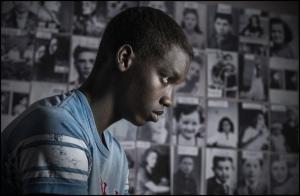 Ahmed  Dramé  co-cénariste  et   comedien  à l'origine  du  film .
