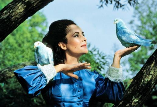 Elizabeth Taylor dans L'Oiseau bleu