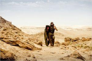 La marche de  Nazaret dans le désert  en compagnie de  son sauveur