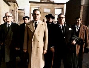 Gian -Maria  Volontè dans une scène de  Lucky Luciano