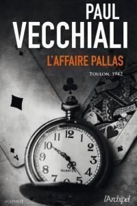 l'Affaire  Pallas  -  Couverture  du  Livre