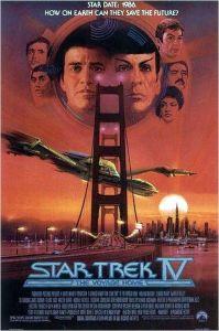 l'Affiche de  Stra  Trek 4  réalisé  par  Leonard  Nimoy