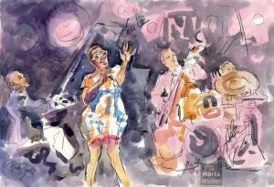 Cécile Mclorin Salvant Nice Jazz Festival 2014 c Maewy