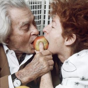 Joris  Ivens  et Marceline  Loridan