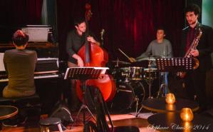 Pierre Marcus quartet Crédit - Stéphane Claus