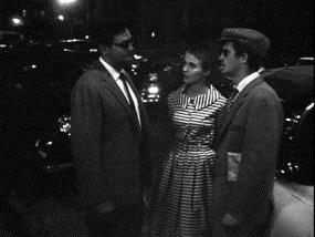 Roger Hanin dans A Bout de soufle de Jean-Luc Godard avec Jean Seberg et Jean-Paul Belmondo