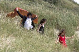 Le  trio amoureux ( Félix Moati, Sophie Veerbeck  et Anaïs Demoustier ), vers quel avenir?