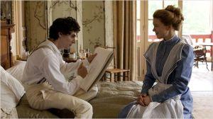le jeune Tubereculeux ( Vincent  Lacoste)  et  Léa Seydoux