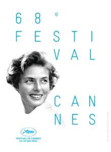 l'Affiche  officielle  du 68  éme  Festival de  Cannes  2015