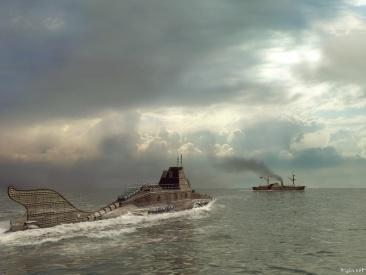 Le Nautilus à l'attaque