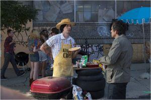 Jamie (Adam Driver )  et  Josh ( Ben Stiller