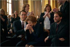 Au tribunal lors de la sentence : , Ryan Reynolds, Helen Mirren et Daniel Brühl