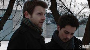 A droite , Vlad ( Andrey Kurganov) et  Anton ( Renat  Sheteev)