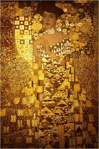 Le  Tableau tant  convoité , de la tante  de Maria ,  peint  par Gustav Klimt