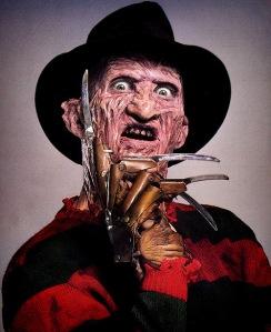 "Le célèbre personnage de la ""saga"" : Freddy Krueger"