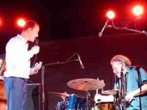 David Linx et André Ceccarelli (JP L)