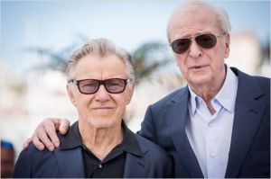 Harvey Keitel et Michaël Caine