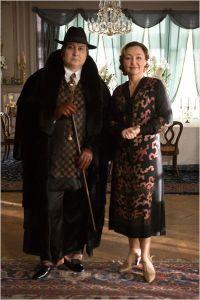 Marguerite ( Catherine Frot ) et son professeur de Chant ( Michel Fau )