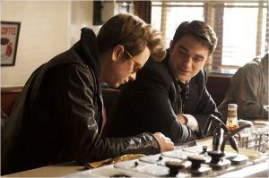 James Dean ( Dane Dehaan ) et Dennis Stork ( Robert Pattinson)