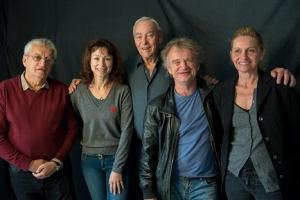 Le Jury présidé par Yves Boisset ( Photo : Jean-Jacques Ader )