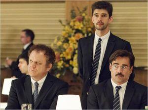 Ben Wishaw, John C. Reiley et Colin Farell dans une scène du film.