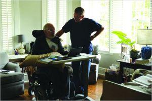 Une scène du Film : Tim Rothe avec un Patient