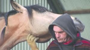 bartabas  et  son cheval  le  Caravage .