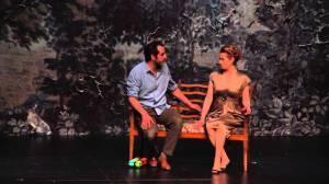 Emmanuelle Devos et Rodolphe Dana