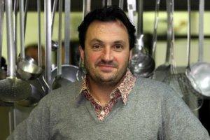 Le president du jury, Yves Camdeborde Concours de cuisine au CFA de Charleville