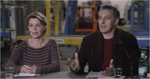 Margherita ( Margherita Buy )  et Barry (  John Turturro )
