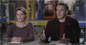 Margherita ( Margherita Buy )  et Barry (  John Turturro )