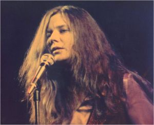Janis sur scène
