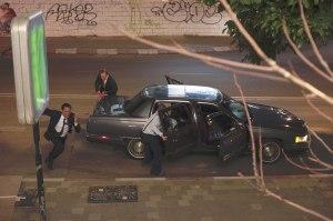 la confusion après l'assassinat de Rabin dont le corps ets évacué à l'h$oital de Tel Aviv