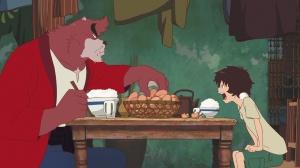 Kumatetsu l'homme-ours et Ren . premeirs pas de l'apprentissage ...