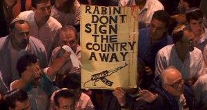 Manifestation hostile au processus de paix