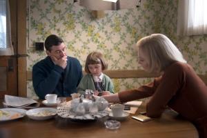 Carol ( Cate Blanchett ) en Famille ( Kennedy K Heim et Kyle Chandler