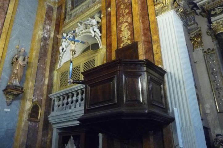 La chaire et le bras de prédication
