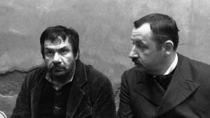 Michel Galabru  et Philippe Noiret  dans  Le  Juge et l'Assassin de  Bertrand Tavernier (1976)