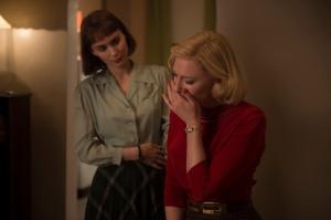 Carol ( Cate Blanchett) et Thérèse ( Rooney Mara )