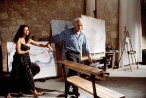 Emmanuelle Beart et Michel Piccoli  dans  La  Belle Noiseuse
