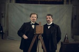 Les frères Lumière ( Bruno et Denis Podalydès )