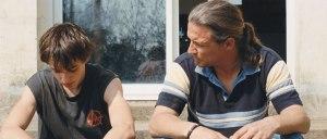 Dominique Leborne et  son  fils  Matteo