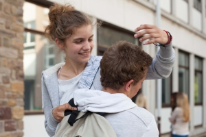 Mélanie et Maxime , l'image d'un boheur menacé ...