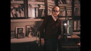 Manoël De Oliveira à son burau