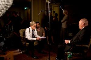 Dan Rather ( Robert Redford)  interview d'un témoin -cél