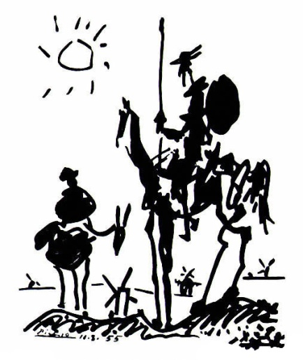Don Quichotte par Picasso