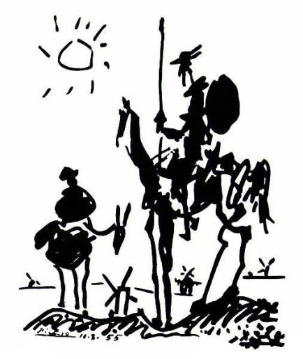 Don Quichotte par Picasso